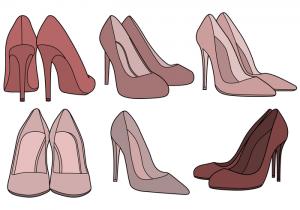free high heel shoe wallpaper
