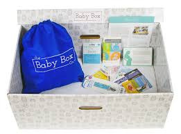 free baby box by mail