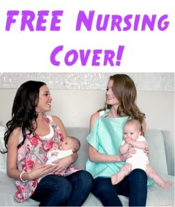 Free Baby Nursing Cover