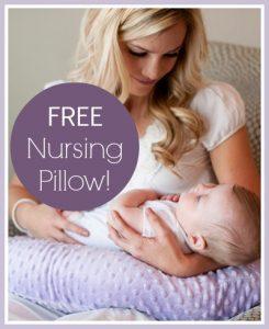 Free Baby Nursing Pillow
